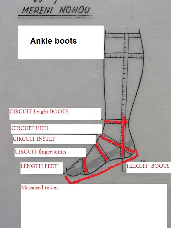 To Measure Leg Boty Na Zakzku
